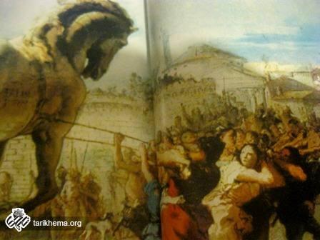 تاریخ تروا در یونان باستان