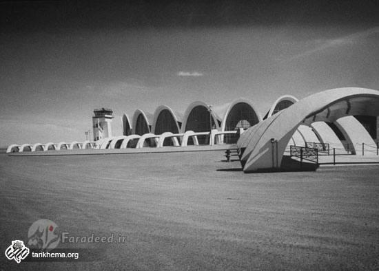 فرودگاه بینالمللی کابل در اوایل دهه 1960