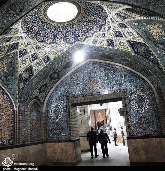 بافت سنتی و قدیمی بازار تهران