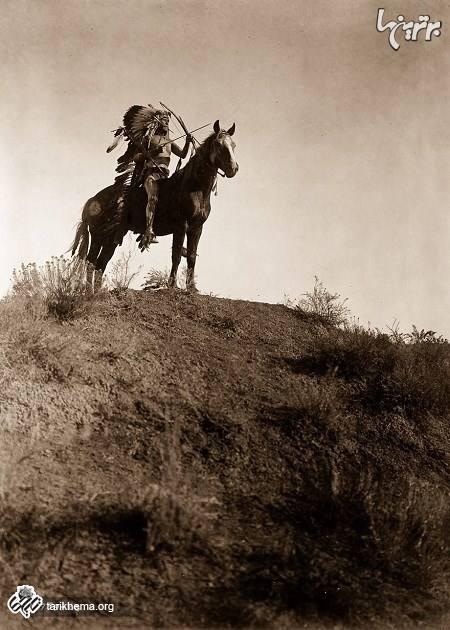 تصاویری دیده نشده از بومیان آمریکا در یک قرن پیش