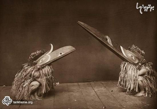 تصاویر کمیاب از بومیان آمریکا در یک قرن پیش
