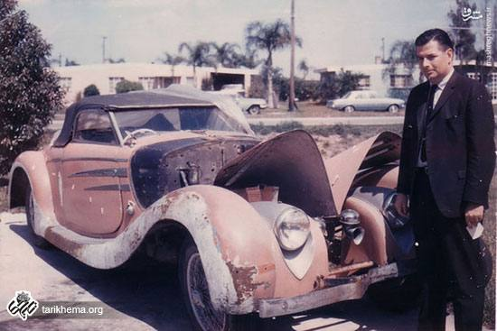 خودرو محمدرضاشاه پهلوی