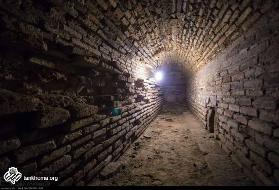 سازه تازه کشف شده زیر میدان امام اصفهان