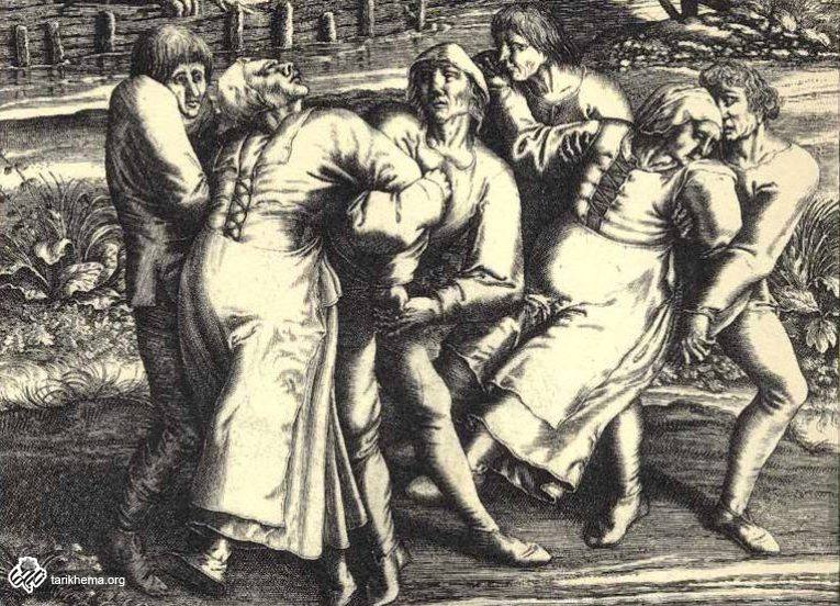 تاریخچه عجیب بیماری رقص