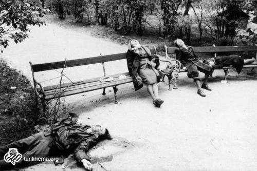 خودکشی 2 زن و یک دختر خردسال اتریشی در پارکی در وین از ترس از پیشروی ارتش سرخ