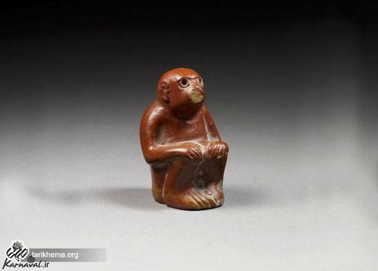 مجسمه میمون ایلامی
