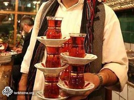 کام تلخ چای ایرانی