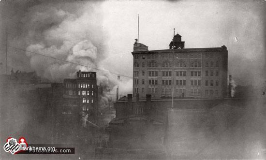 آتشسوزی ویرانگر بالتیمور در 113 سال قبل