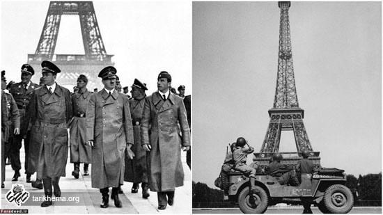 بازدید هیتلر از برج ایفل