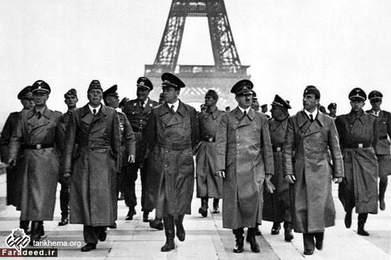 بازدید هیتلر از پاریس و برج ایفل