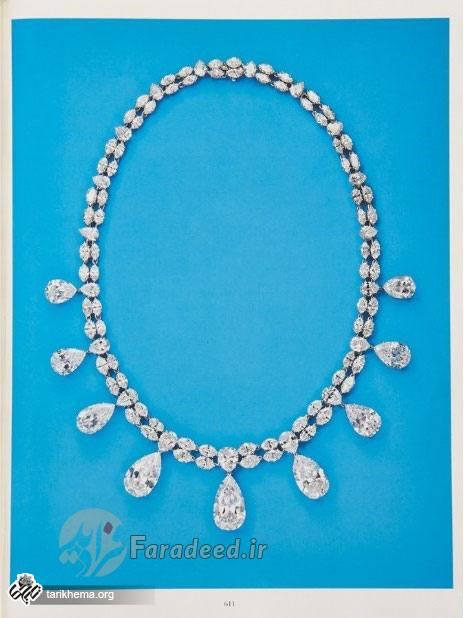 گردنبد الماسی که شاه به ثریا هدیه داد