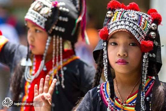 لباس های زنان اقوام جهان