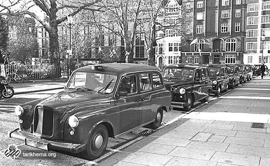 تاریخ ورود تاکسی به ایران