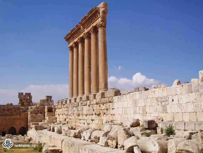بنای تاریخی معبد بعلبک (Baalbek)