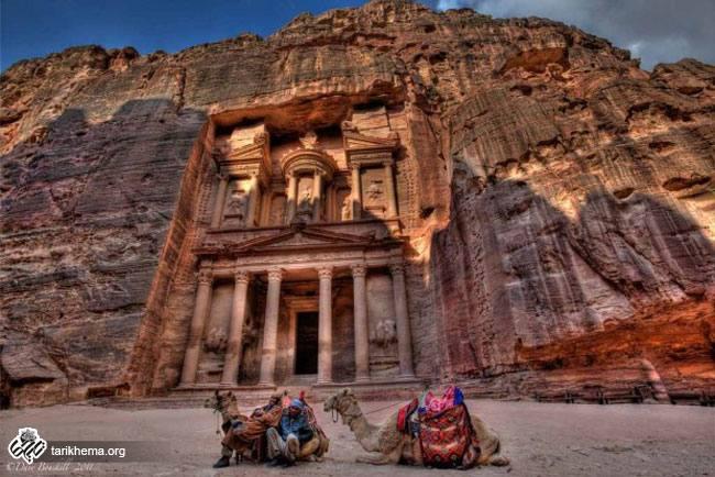 بنای تاریخی شهر پترا (Petra)