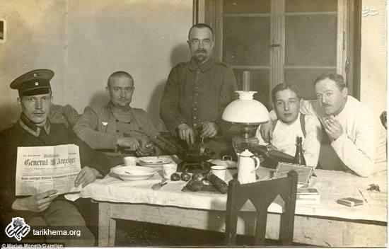عکسهای یک پزشک از جنگ جهانی اول