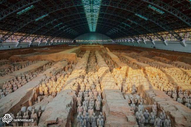 بنای تاریخی ارتش سفالین (Terracotta Army)