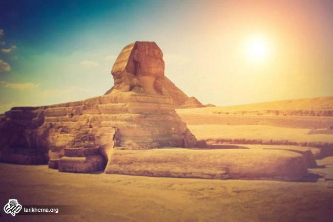 بنای تاریخی مجسمه ابوالهول (Sphinx of Giza)