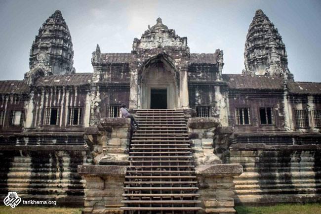 بنای تاریخی معابد آنگکور وات (Angkor Wat)