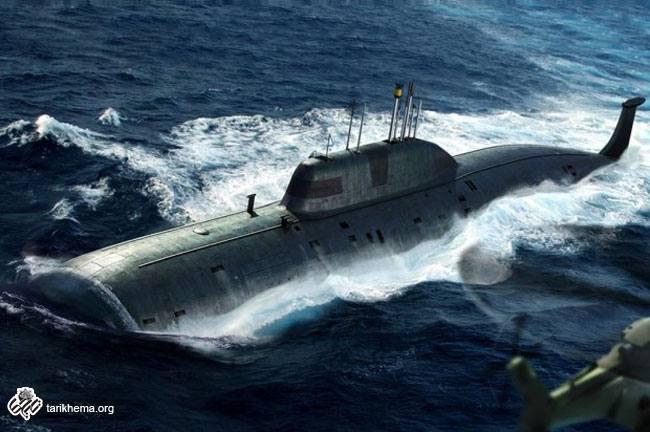 زیردریایی Akula اختراع نظامی شوروی سابق