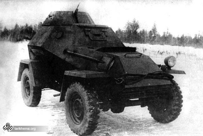 ماشین زرهپوش BA 64 اختراع نظامی شوروی سابق