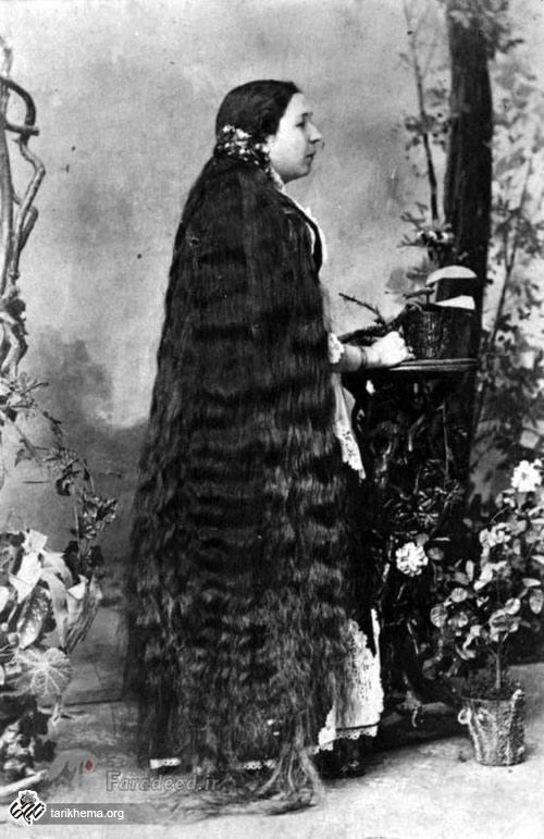 تصاویری جالب از زنان موبلند در عصر ملکه ویکتوریا