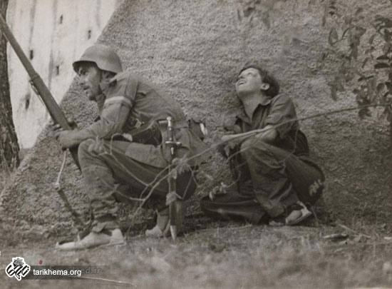 گردا تارو نخستین زن عکاس در خط مقدم جبهه