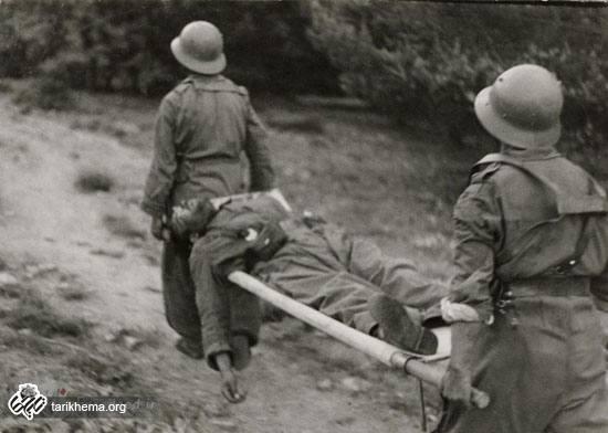 نخستین زن عکاس در خط مقدم جبهه