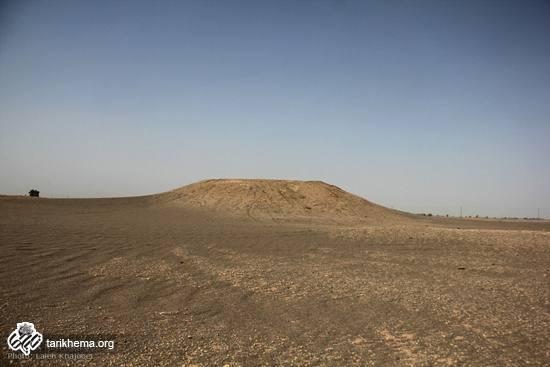 بیرون امدن شهری باستانی در شهرستان فهرج کرمان