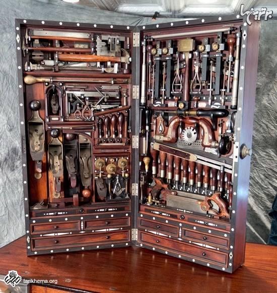 جعبه ابزار جالب و بی نظیر قرن نوزدهمی