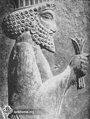 داريوش شاه چگونه بار ميداده است؟
