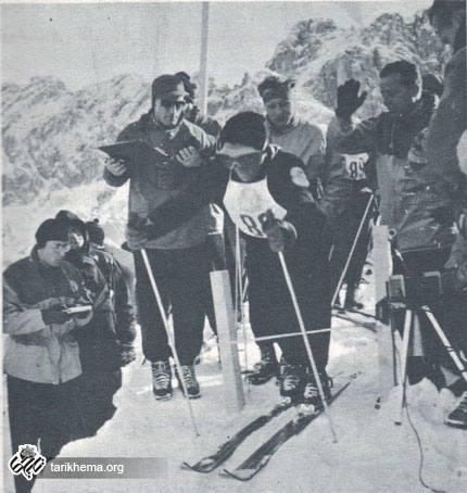 تاریخ ورزش اسکی در ایران