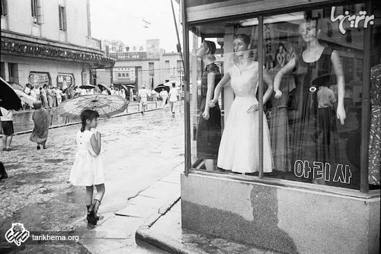 تصاویری جالب از سئول پس از جنگ کره