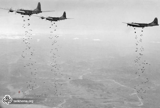 تصاویری جالب از جنگ آمریکا با کره شمالی در سال 1950