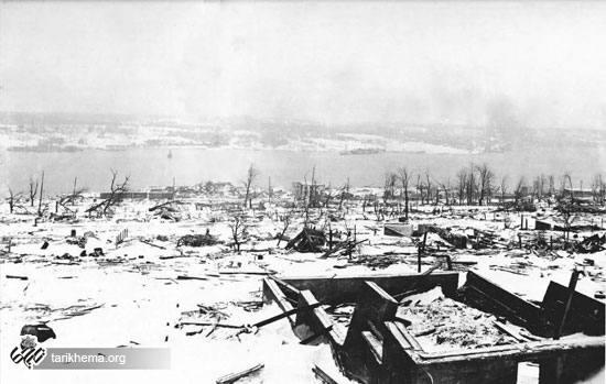 بزرگترین انفجار تاریخ قبل از سلاح اتمی