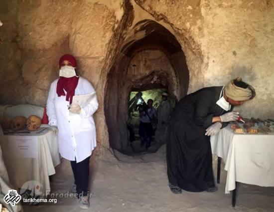 کشف گنجینه باستانی در مصر