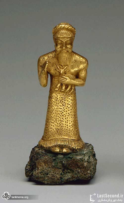 تصاویر موزه لوور پاریس قسمت ایران باستان