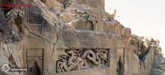 سنگ بریده اژدها
