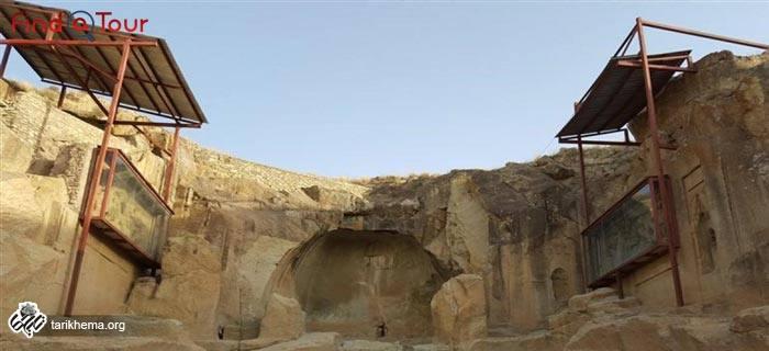 ورودی معبد داشکسن