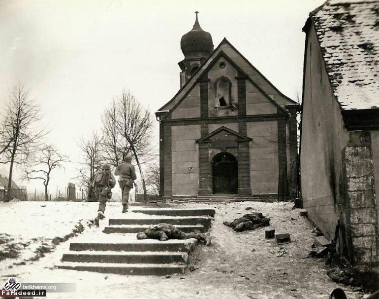تصاویر دیده نشده از جنگ جهانی دوم