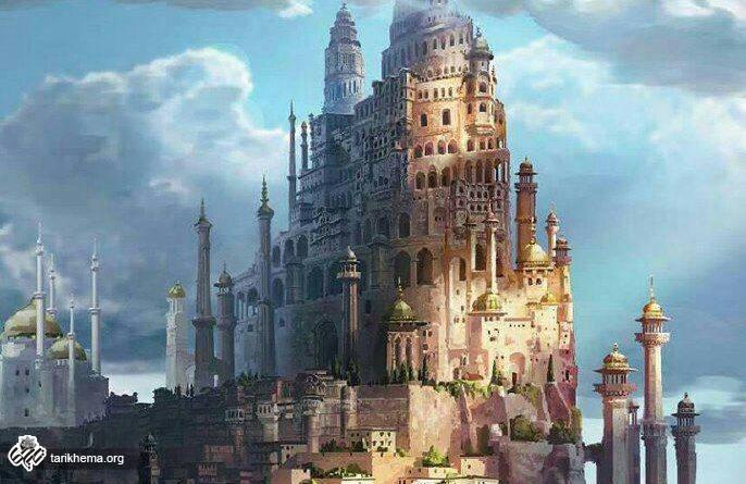 تصویر بازسازی شده قلعه الموت قزوین
