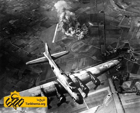 بمباران هوایی در جنگ جهانی دوم