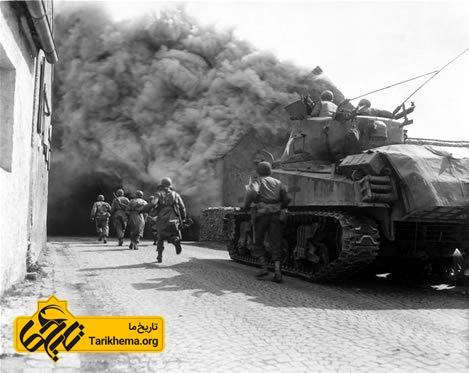 حرکت سربازان در جنگ جهانی دوم