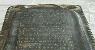 کشف تابوت سفالی با خط میخی فارسی باستان در طارم زنجان