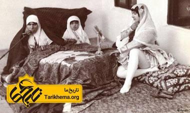 زنان حرمسرای قاجار