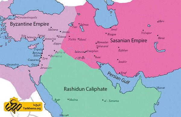 سپاه اعراب چگونه به قلب ایران رسید؟