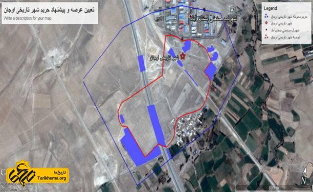 شهر تاریخی اوجان در آذربایجان شرقی