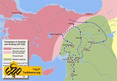 حمله اعراب به ارمنستان