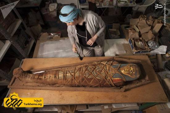 مومیایی با ماسک طلایی