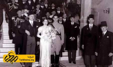 همسر اول محمدرضا پهلوی